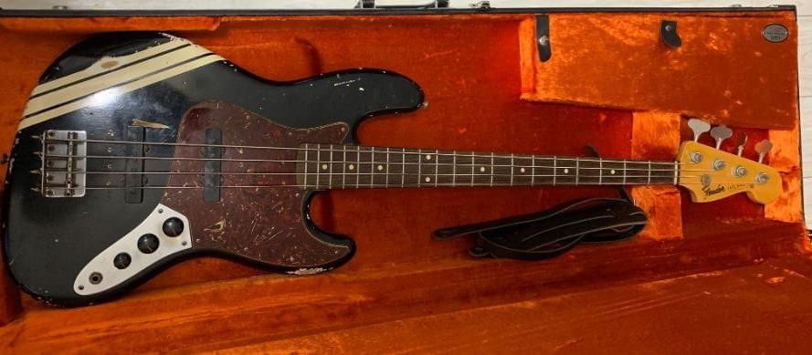 【初ベース】Fender Custom Shop MBS 1961 Jazz Bass Relic by Dennis Galuszka 2011
