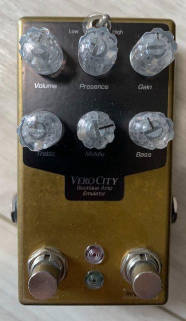 【BOGNERサウンド】VeroCity Effects Pedals XTC-B レビュー